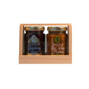 Mustard & Sauce Gift Crate
