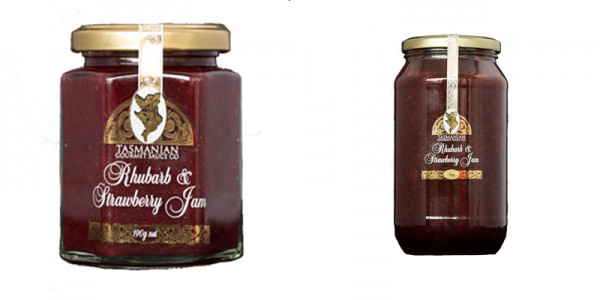 Tasmanian_Rhubarb_Strawberry_Jams