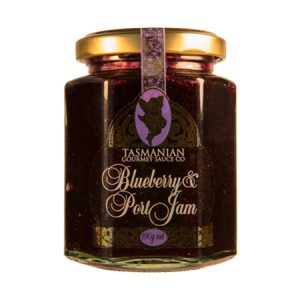 Blueberry Port Jam 190g