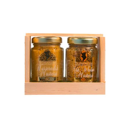 Gift Crate Mustard 2x55 grams