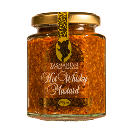 Tasmanian Hot Whisky Mustard