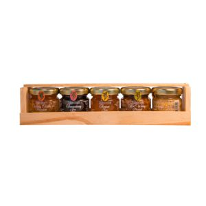 Jam & Mustard Gift Crate 5x28g