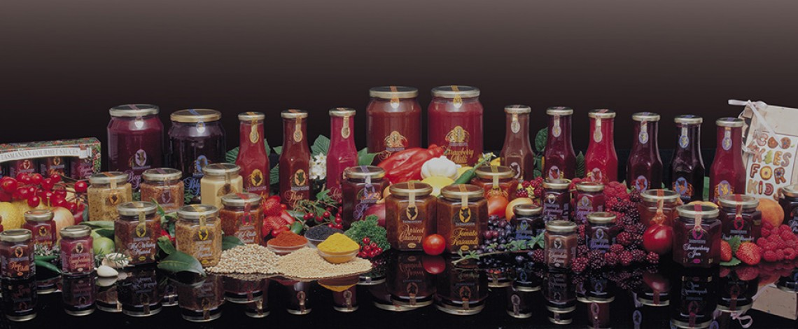 Tasmania's Finest Sauces, Jams, Chutneys and Mustards