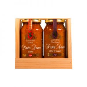 Pasta Sauce Gift Crate